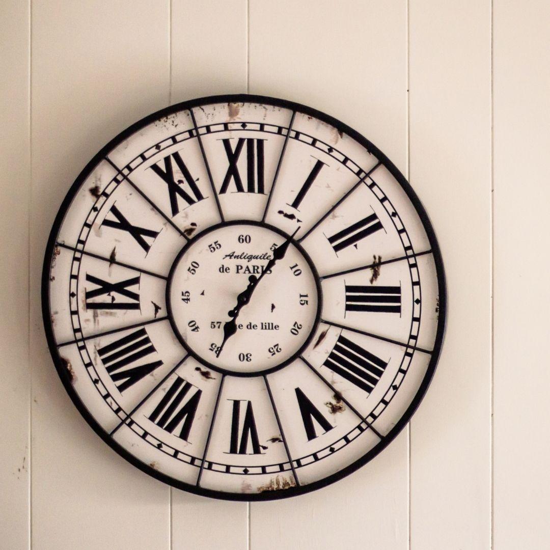 keep a clock on the wall